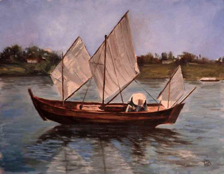 Junk boat -
