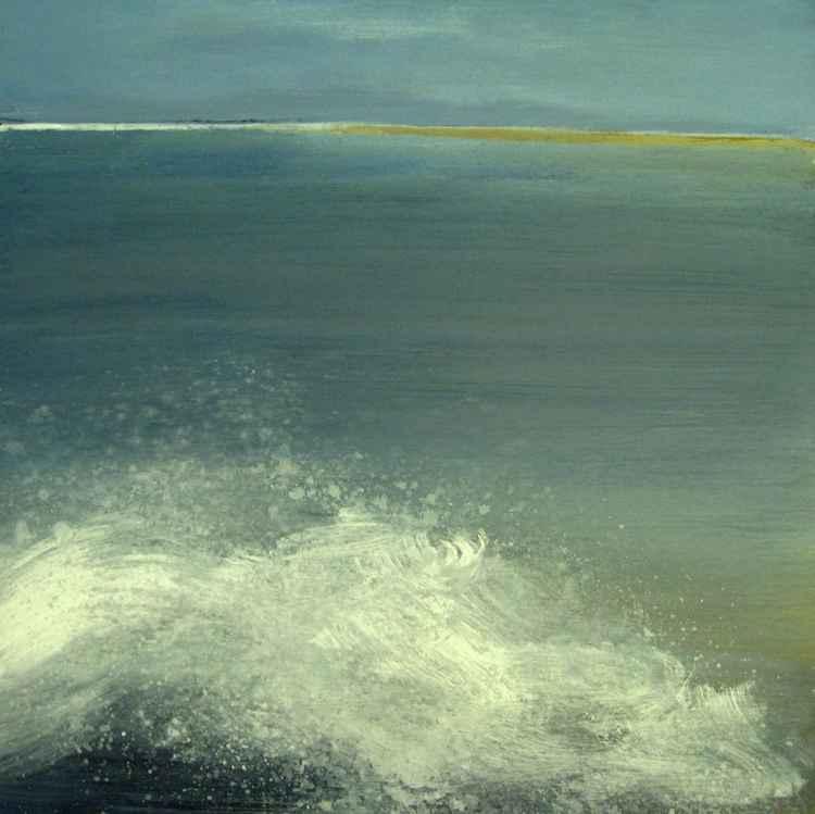 De branding (the sea touching the coast)