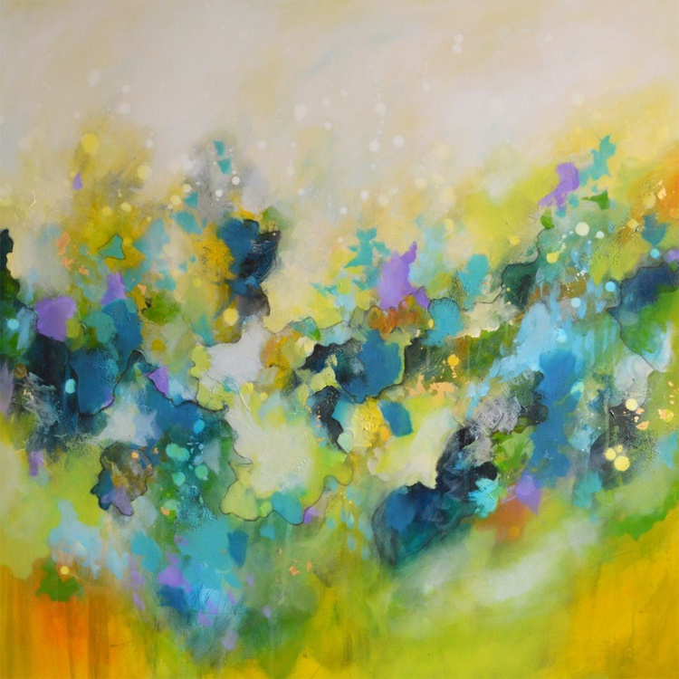 The Light In The Dreams - Large Abstract Painting - Image 0