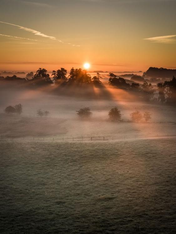 Sunrise at Jervaulx - Image 0