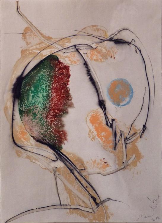 Prolegomena, Acrylic on paper #20 29x42 cm - Image 0