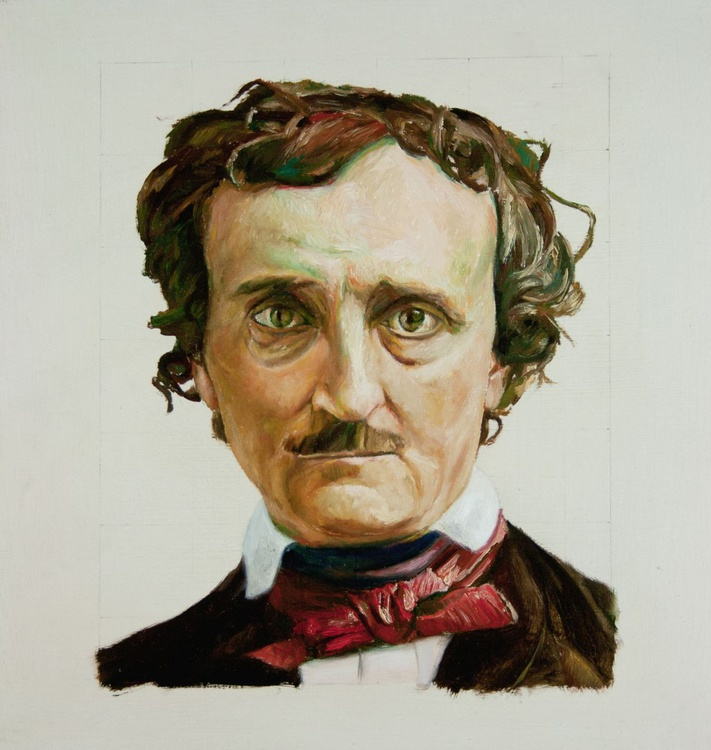 Head of E.A.Poe - Faces - Image 0