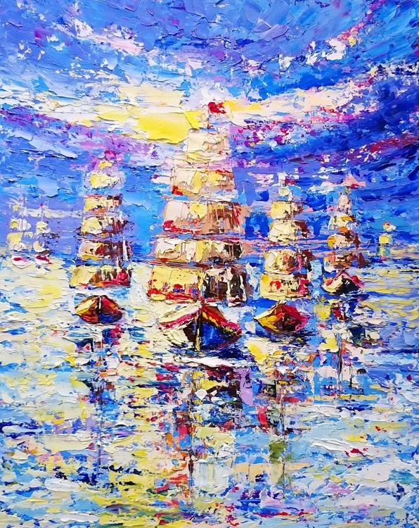 Sailing ships - Image 0
