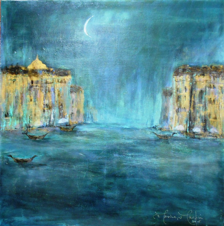 Blue Moon Over Venice - Image 0