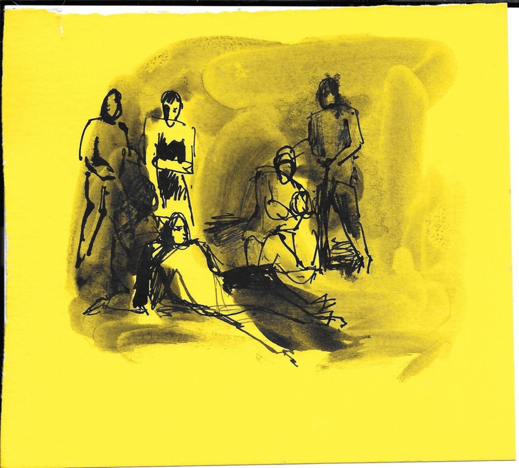 Fainting 3, 16x15 cm - Image 0