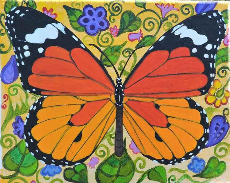 Butterfly. -