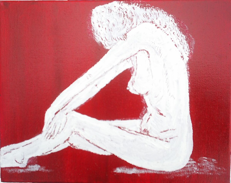 Study in Red and White - Image 0