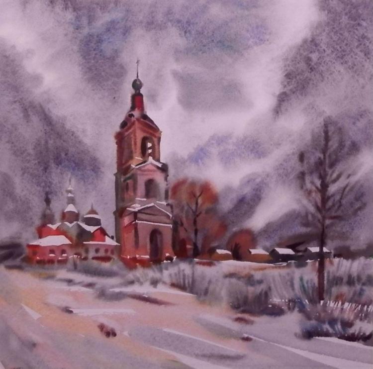 winter, 68x68 cm - Image 0
