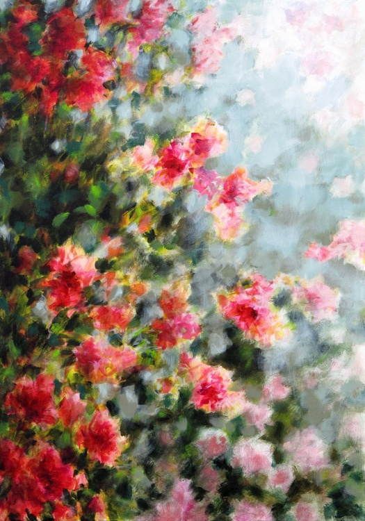 """Red flowers in the mist"" SUMMER'S SALE : #SPECIAL OFFER -50% OFF - Image 0"