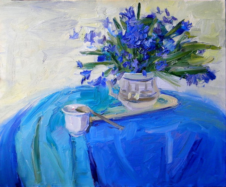 Still life in blue - Image 0