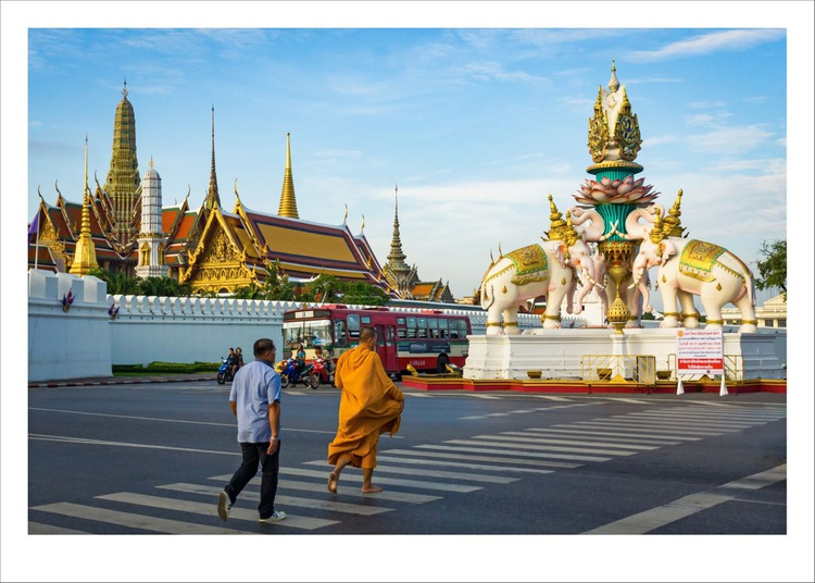 Morning Alms Collection, Thailand. - Image 0