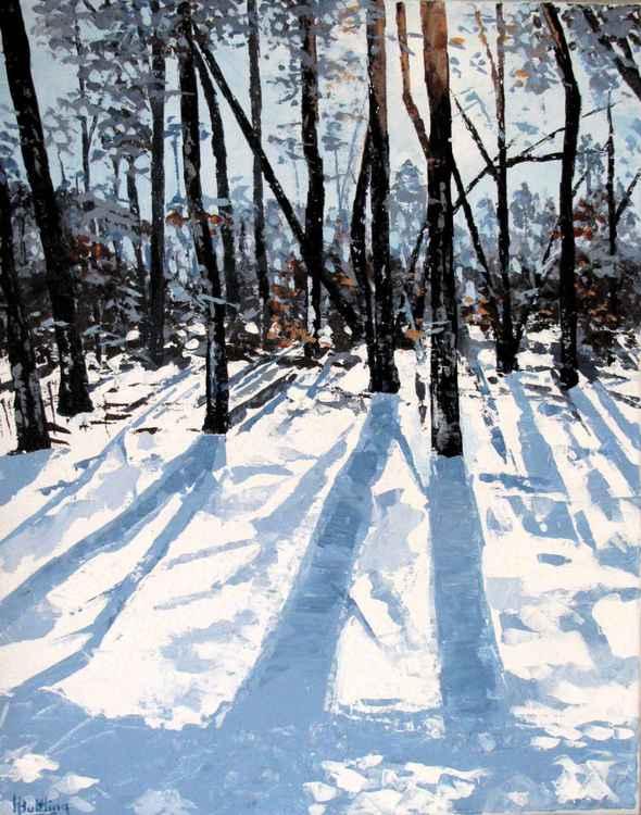 Snow Trees 40cm x 50cm