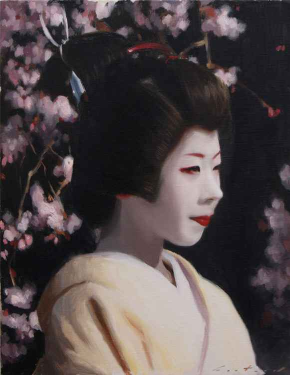 Ryouka and Sakura - japanese geisha -