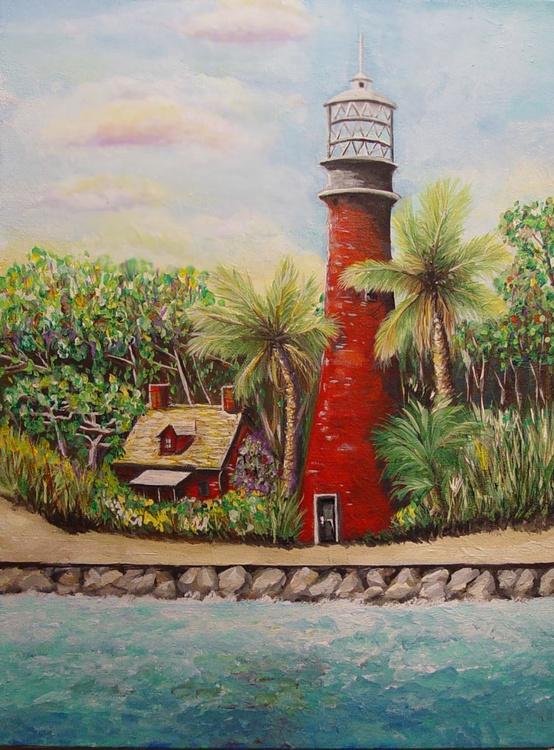 Cape Florida Lighthouse, 1947 - Image 0