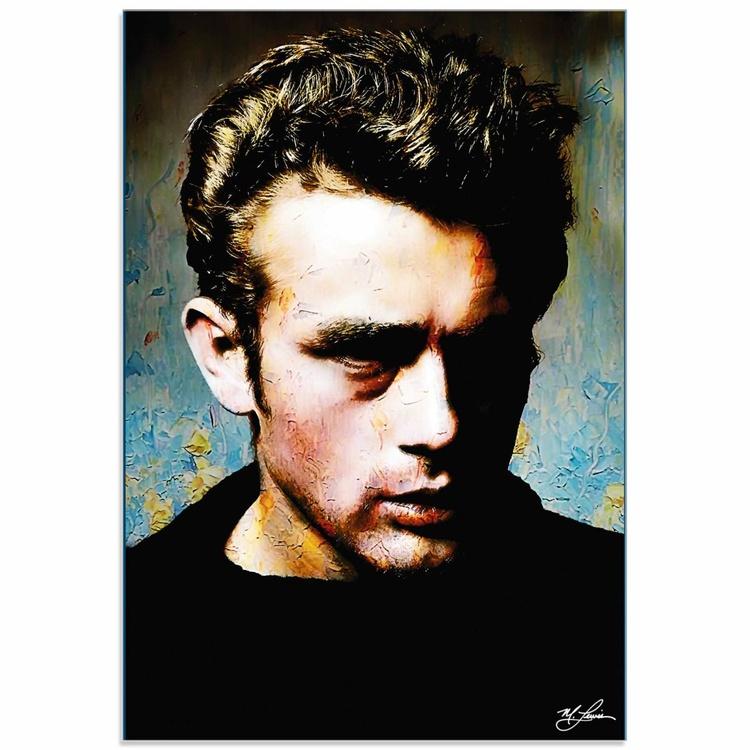 Mark Lewis 'James Dean Gentle Trust' Limited Edition Pop Art Print on Acrylic - Image 0