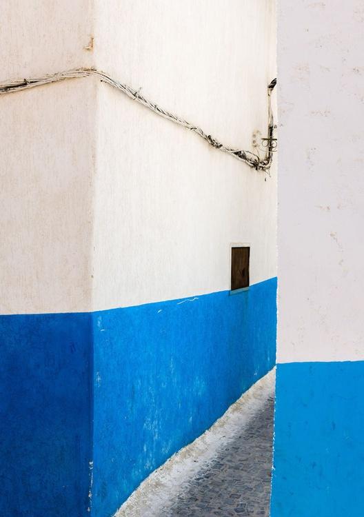 Rabat Medina. (42x59cm) - Image 0