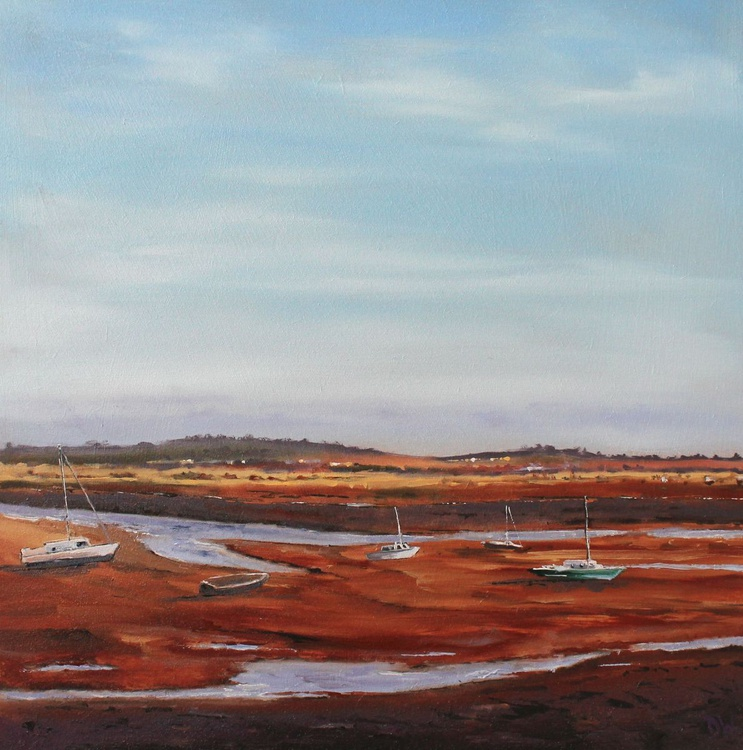 Wells Next To Sea, Low Tide - Image 0
