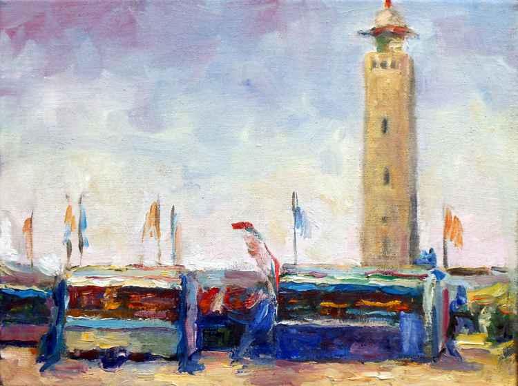 Noordwijks lighthouse
