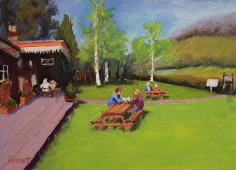 Teatime at Tintern Old Station - Image 0