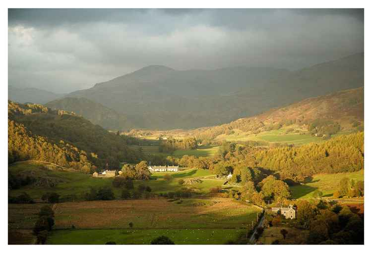 Autumn light -  Ulpha,Duddon Valley