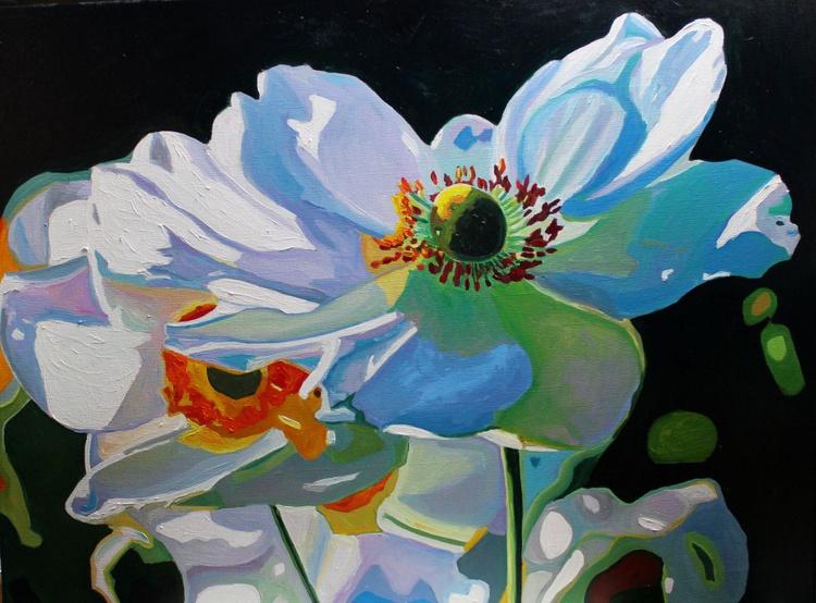 Windswept Flowers - Image 0