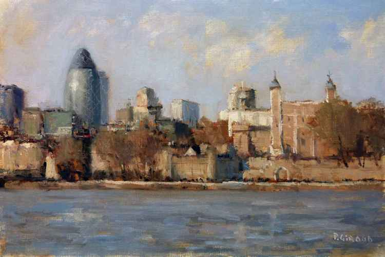 The Thames, London -