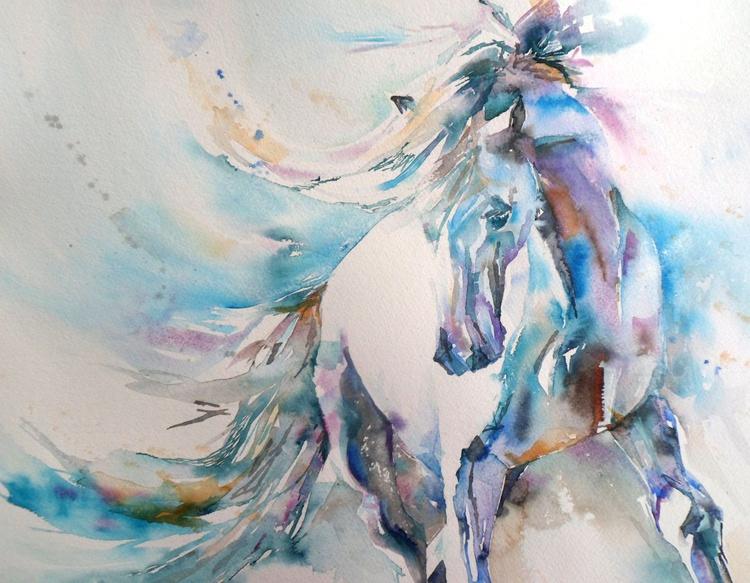 Spanish horse - Image 0