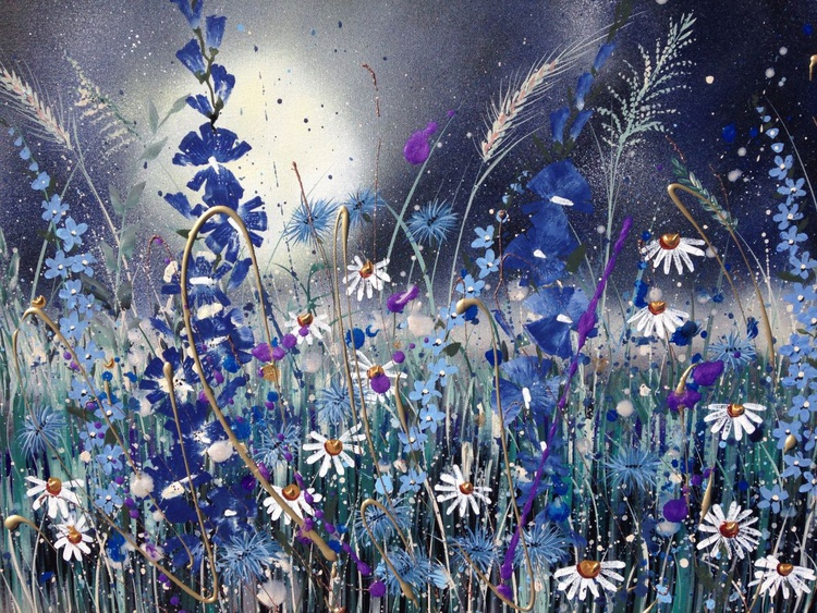 Daisies in the moonlight - Image 0