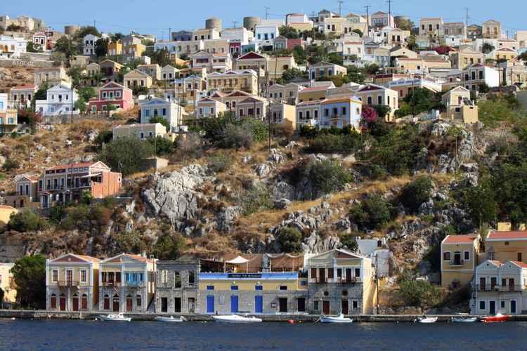 Symi island -