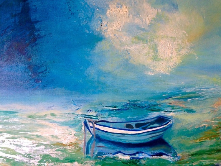 Wind, sea and the boat - Image 0