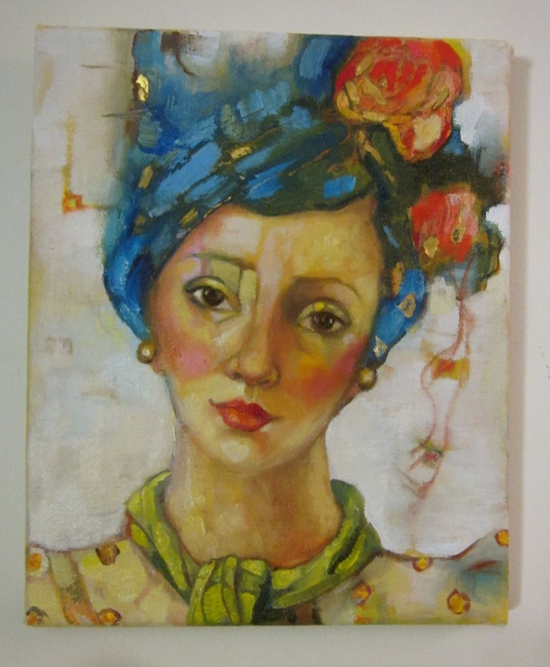 Ilsa Bluehair and Gold - Image 0