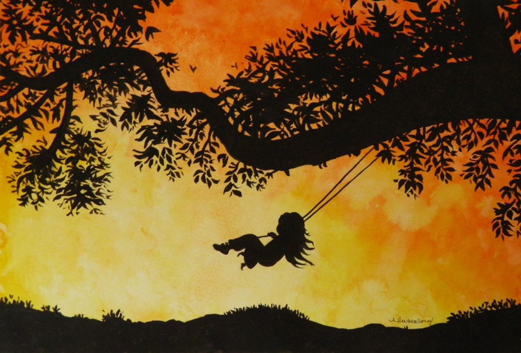 Sunset and the Swing - Image 0