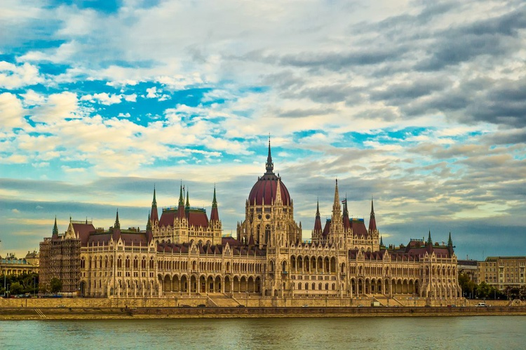 The Parliament building in Budapest - Image 0