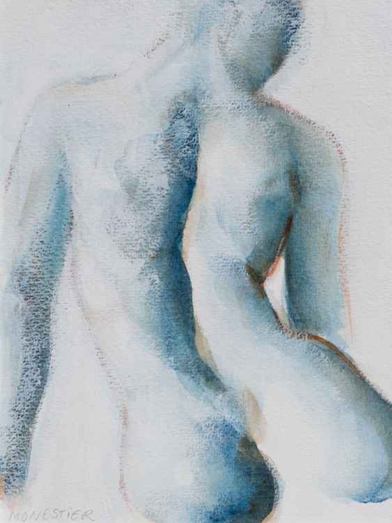 Blue nude -