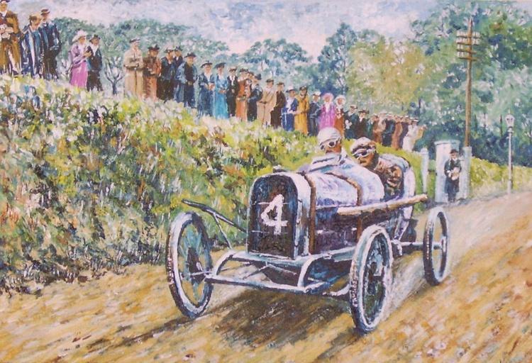 Kenelm Lee Guinness 1914 TT - Isle of Man - Image 0
