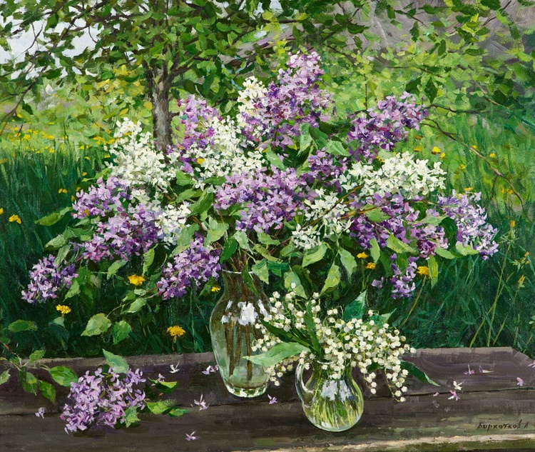 Still Life with Lilac - Image 0