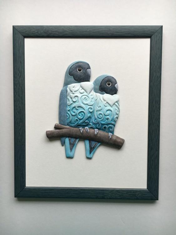 Blue Lovebirds - Image 0