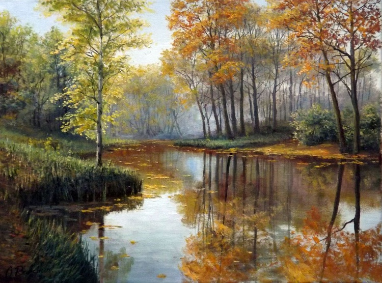 Sunny Autumn Day on the River - Image 0