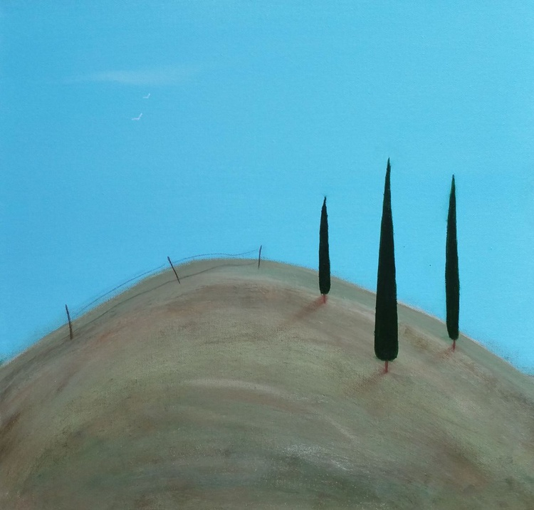 """"""" up on the hill """" - Image 0"""