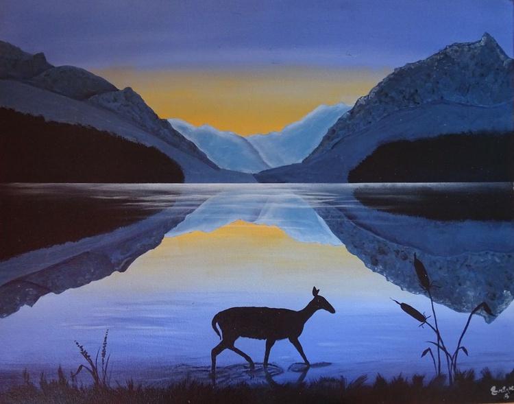 Twilight on the lake - Image 0