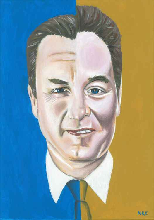David Cameron / Nick Clegg as Twoface