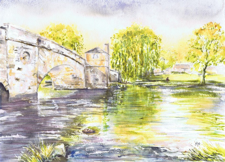 The Ha'Penny Bridge, Lechlade - Image 0