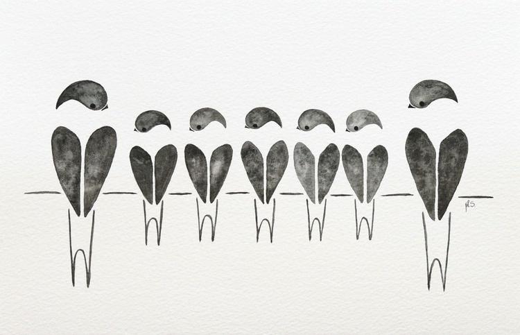 Swallows XVI - Image 0