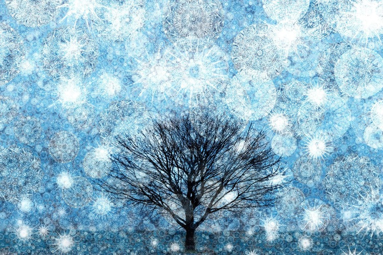 Snow Fills The Air (Ltd Edition of only 20 Fine Art Giclee Prints from original artwork.) - Image 0