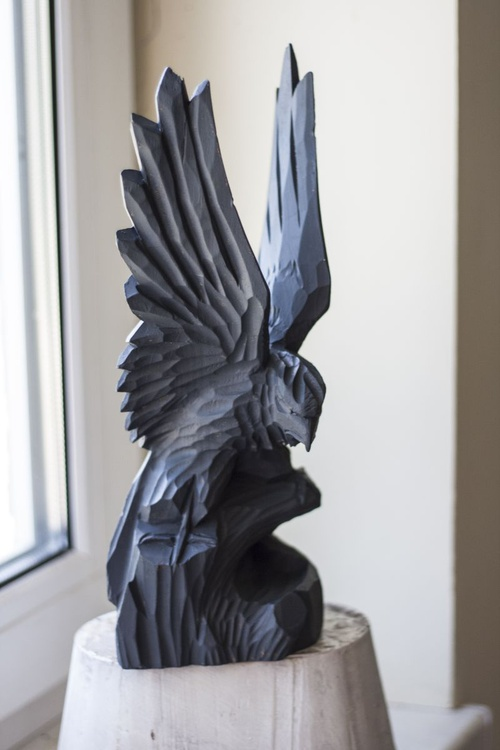 wounded eagle mini sculptures - Image 0