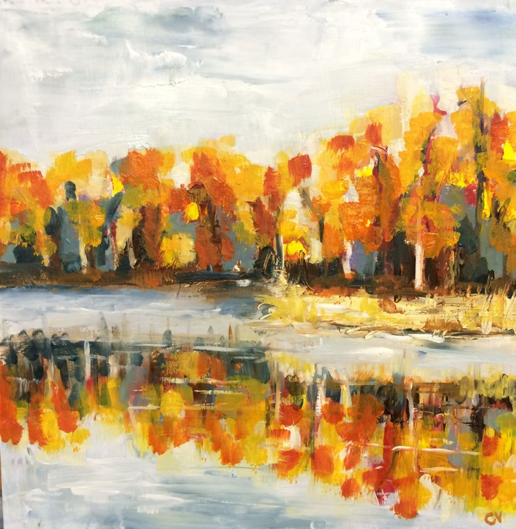 Autumn by the lake 4 - Image 0