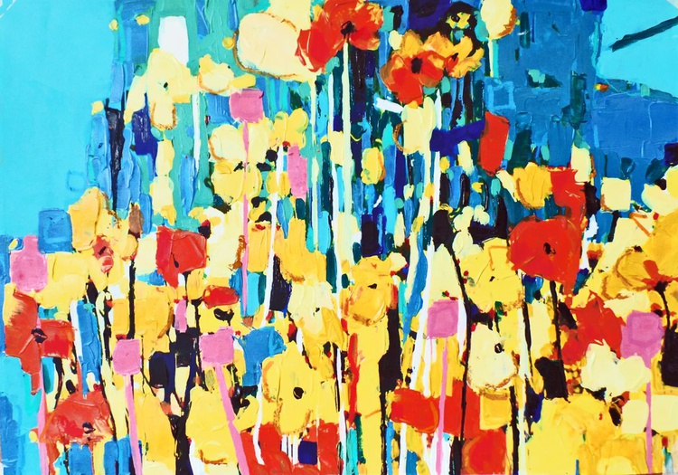 Cosmos - A Field of Mixed Colour - Image 0