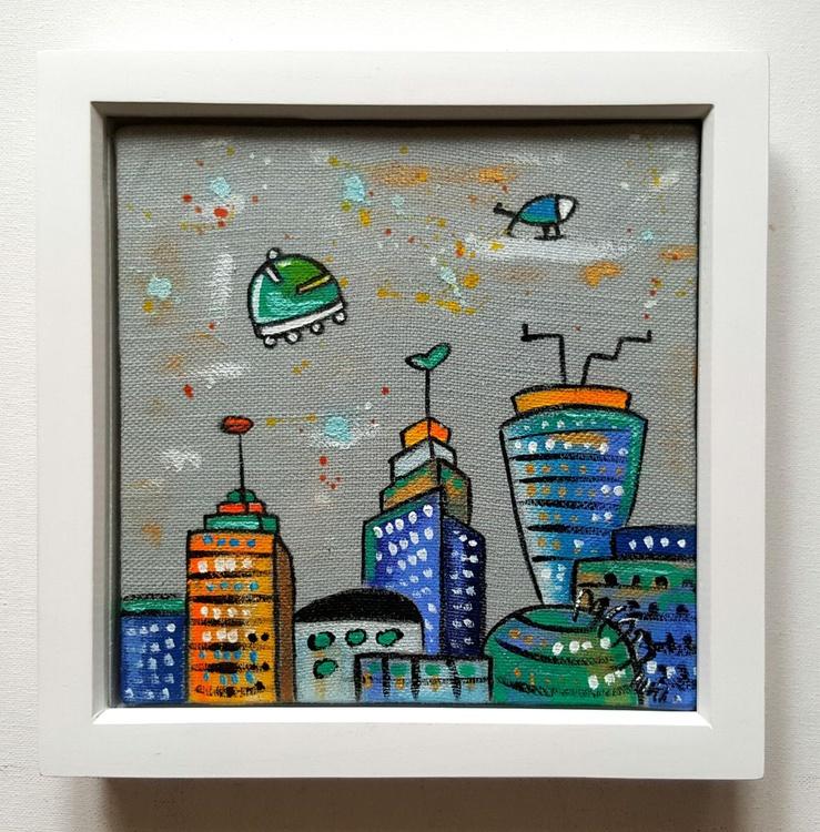 Grey Fabric City - Image 0
