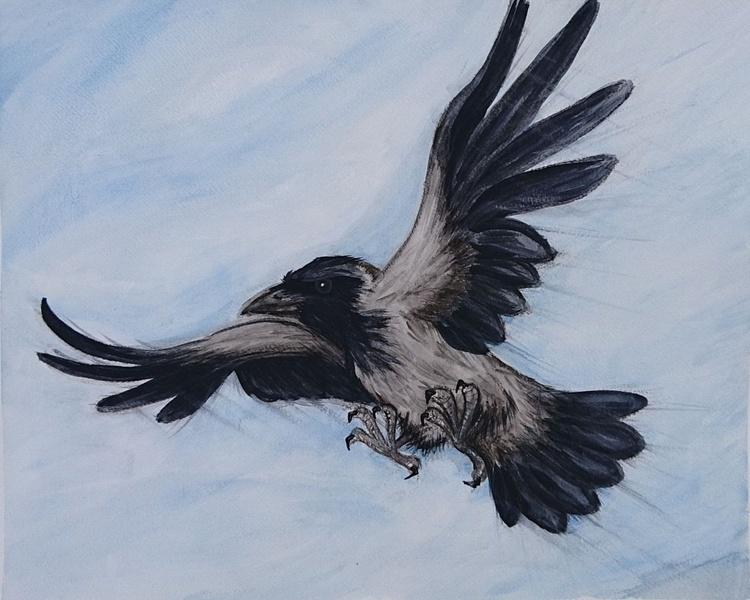 Old raven - Image 0