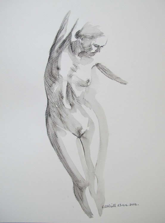 standing nude - Image 0